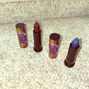 2 NEW Urban Decay Alice in Wonderland Lipsticks